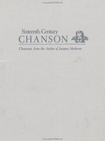 Chansons Published by Jacques Moderne
