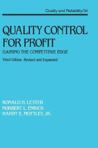 Download Quality control for profit