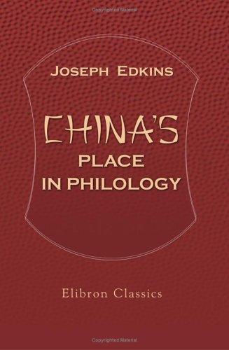 Download China's Place in Philology