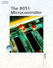 8051 MICROCONTROLLER ARCHITECTURE PROGRAMMING & APPLICATION