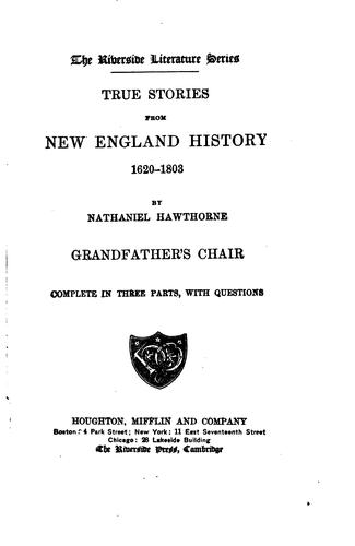 Download True stories from New England history