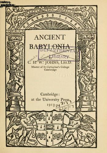 Download Ancient Babylonia.
