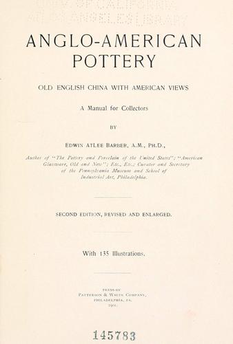 Download Anglo-American pottery