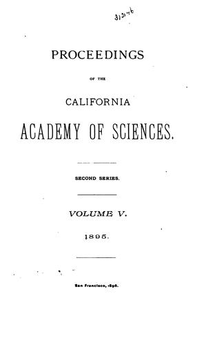 Proceedings of the California Academy of Sciences, 4th Series