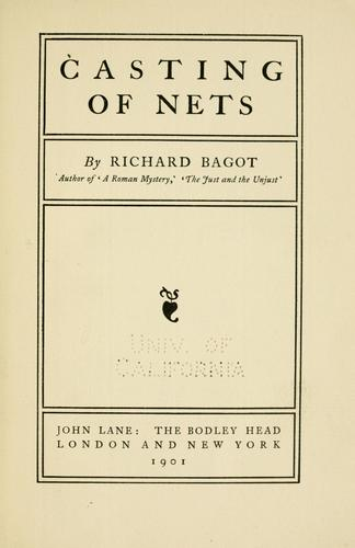 Casting of nets.