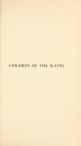 Download Children of the slaves