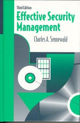 Download Effective security management