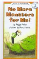 Download No More Monsters for Me! (I Can Read Books)