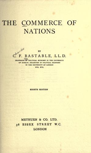 Download The commerce of nations