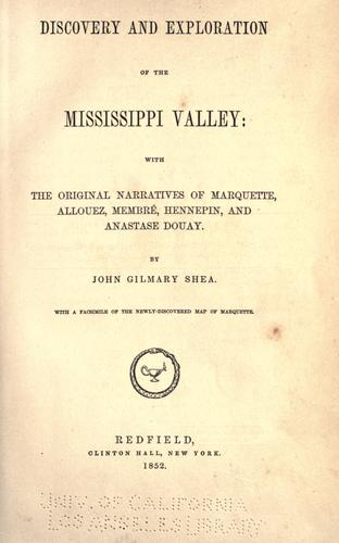 Download Discovery and exploration of the Mississippi Valley