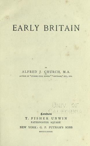 Early Britain.