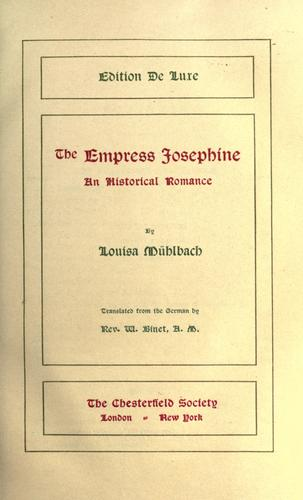 Download The Empress Josephine