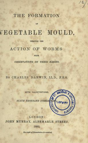 Download The  formation of vegetable mould