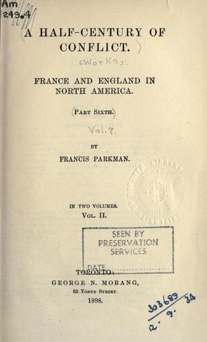 Download France and England in North America.