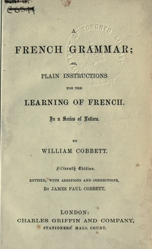 Download A French grammar