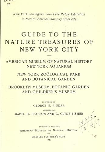 Download Guide to the nature treasures of New York City