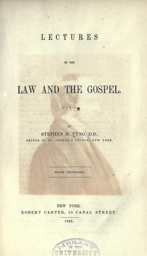 Download Lectures on the law and the gospel
