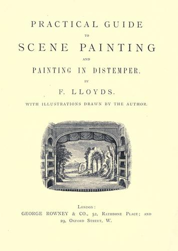 Practical guide to scene painting and painting in distemper