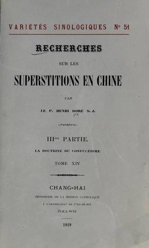 Download Recherches sur les superstitions en Chine.