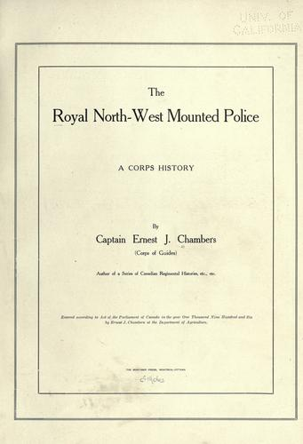 Download The Royal North-west Mounted Police