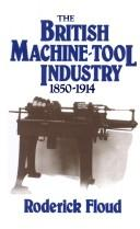 Download The British machine tool industry, 1850-1914