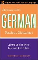 Download McGraw-Hill's German student dictionary