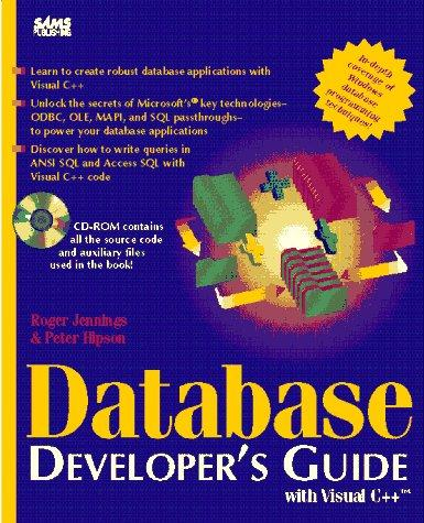 Image for Database Developer's Guide With Visual C++/Book and Cd-Rom