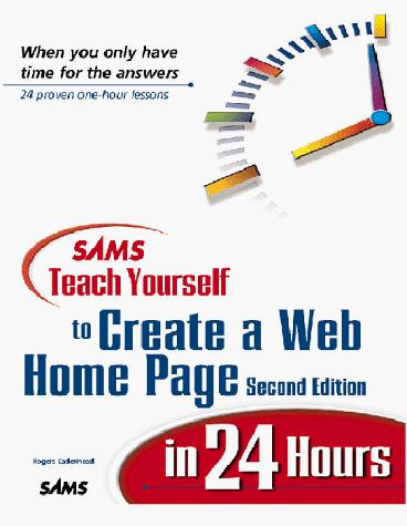 Download Sams teach yourself to create Web pages in 24 hours