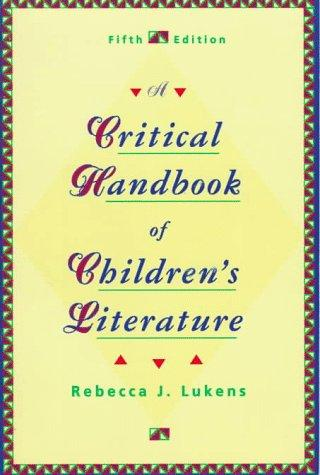 Download A critical handbook of children's literature