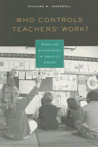Who Controls Teachers Work?