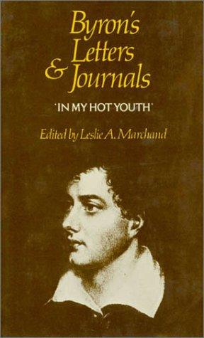 Byron's letters and journals by Lord Byron