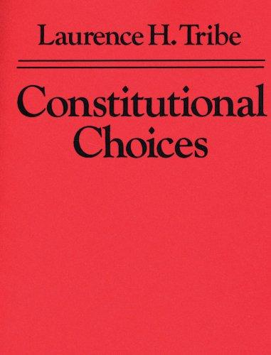 Download Constitutional Choices