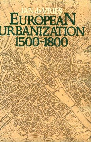 Download European urbanization, 1500-1800