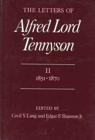 Download The Letters of Alfred Lord Tennyson