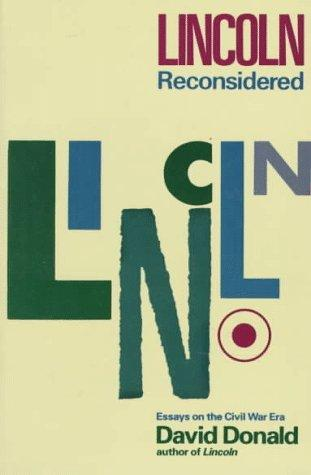 Download Lincoln reconsidered