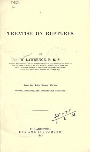 A treatise on ruptures