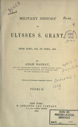 Download Military history of Ulysses S. Grant