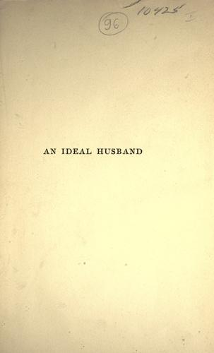Download An ideal husband.