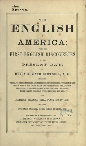 Download The English in America