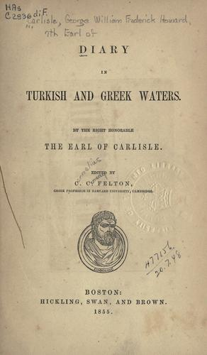 Download Diary in Turkish and Greek waters.