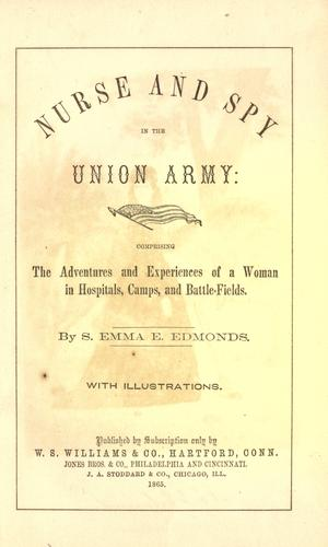 Download Nurse and spy in the Union Army