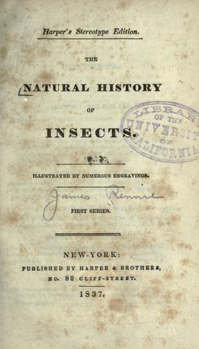 Download The natural history of insects