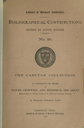 Download The Carlyle collection