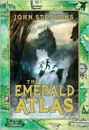 Book Cover: 'The Emerald Atlas' by John Stephens