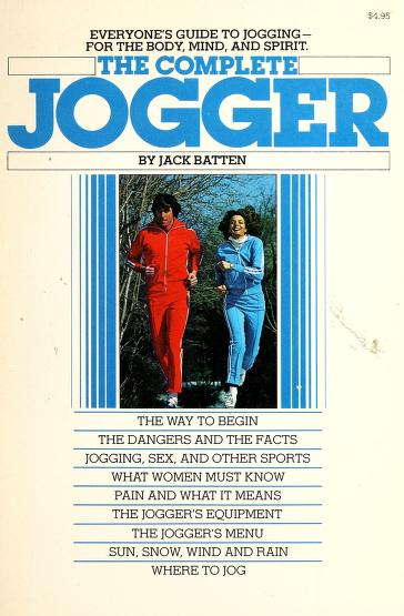 The complete jogger by Jack Batten