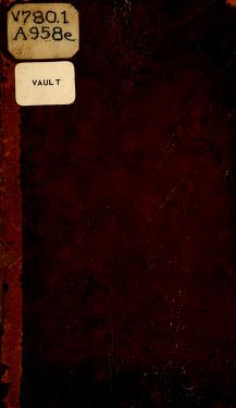 An essay on musical expression by Avison, Charles