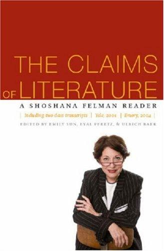 The Claims of Literature