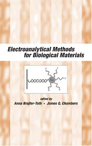 Electroanalytical methods for biological materials by