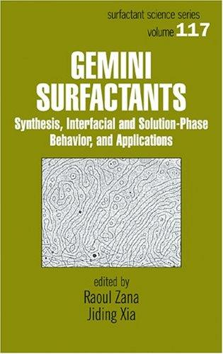 Gemini Surfactants by