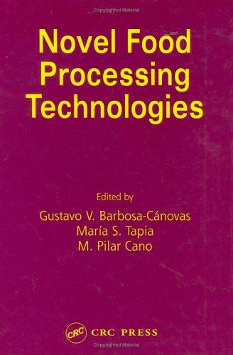 Novel food processing technologies by